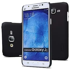 Nillkin Super Frosted Shield Back Cover Case for Samsung Galaxy J5 , Free Nillkin Screen guard (Black)