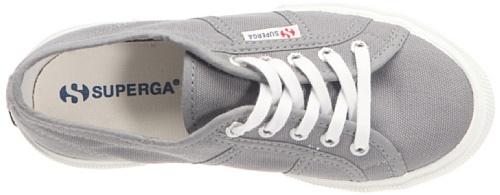 Superga 2950-COTJ S003IH0, Sneaker unisex bambino Grigio (Grau)