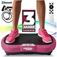 Miweba Sports Fitness 2D Vibrationsplatte MV100-3 Jahre Garantie - 3 multidimensionale Vibrationszonen - Oszillierend - 250 Watt