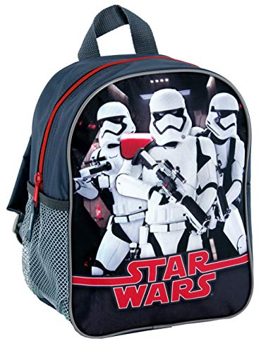 Kinder Rucksack Junge Kindergarten Tasche Schwarz Star Wars