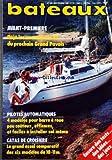 BATEAUX [No 340] du 01/09/1986 - DEJA LES NOUVEAUTES 87 DU PROCHAIN GRAND PAVOIS - PILOTES AUTOMATIQUES / 4 MODELES POUR BARRE A ROUE PEU COUTEUX - EFFICACES ET FACILES A INSTALLER SOI-MEME - CATAS DE CROISIERE / LE GRAND ESSAI COMPARATIF DES 6 MODELES DE 10 - 11 M -