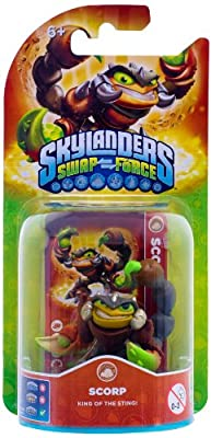 Skylanders Swap Force - Single Character Pack - Scorp (Xbox 360/PS3/Nintendo Wii U/Wii/3DS) from Activision