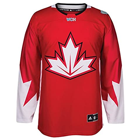 Team Canada 2016 World Cup of Hockey Adidas Men's Premier Red Jersey Maillot