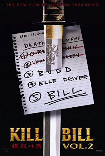 Kill Bill Vol 2 Movie Poster (27,94 x 43,18 cm)