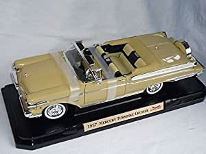 mercury Turnpike 1957 Cruiser Cabrio Creme Beige Oldtimer 1/18 Yatming Modellauto Modell Auto