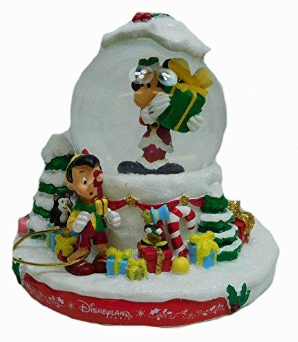 Mickey Mouse Schneekugel Weihnachten Freunde Disneyland Paris Disney