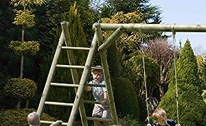 Schaukelgestell mit Leiter von Gartenpirat