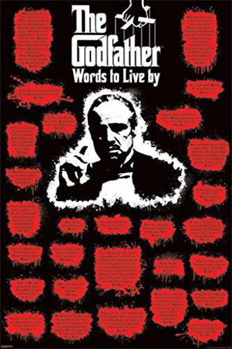 Godfather, The Poster Words to Live (Tom Greene)