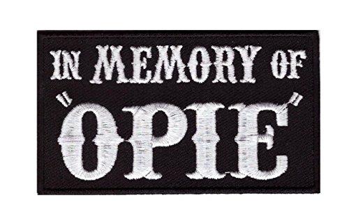 3c3ea7eb1f3 In Memory of Opie Outlaw Embroidered Biker Patch Iron On Parche Motero  Bordado Termoadhesivo by Titan