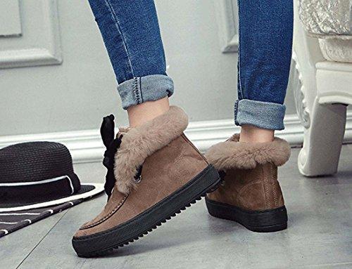 Scarpe Da Ginnastica Alla Moda Da Donna Con Calzatura Con Tacco A Tacco Piatta Khaki