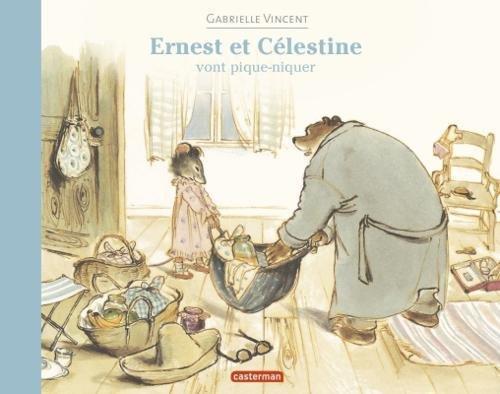 Ernest et Celestine vont pique-niquer por Gabrielle Vincent