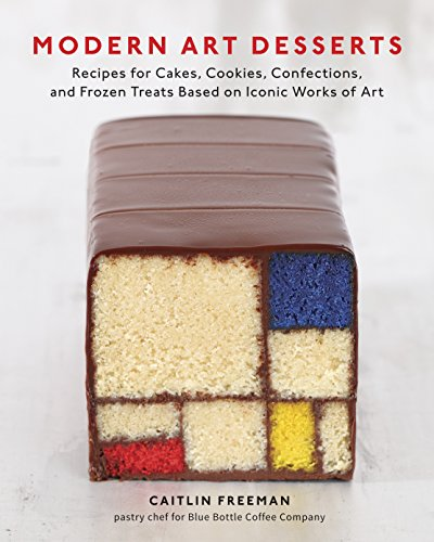 Modern Art Desserts: Recipes for Cakes, Cookies, Confections, and Frozen Treats Based on Iconic Works of Art Kunst Dessert