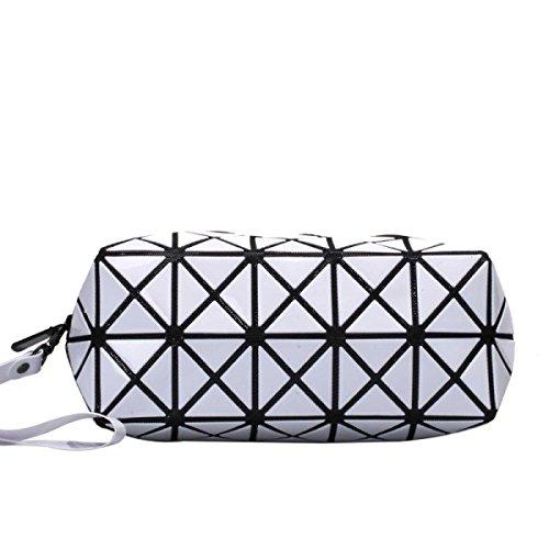 Frauen-geometrisches Muster Multi-Funktions-Verfassungs-Kosmetik-Tasche A