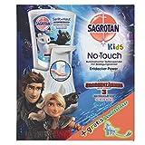 Sagrotan No-Touch Kids Automatischer Seifenspender – Inkl. Sagrotan Nachfüller Entdeckerpower Aloe Vera und Sticker