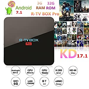 Android-71-R-TV-BOX-Pro-3GB-DDR4-32GB-eMMC-Amlogic-S912-4K-60FPS-TV-BOX-24G5G-WIFI-Bluetooth-1000M-LAN-DLNA-Miracast
