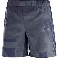 SALOMON Agile 7'' Short M Shorts para Running, Poliéster, Hombre, Azul/Gris (Night Sky/Ebony/Stone Blue), XL