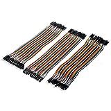 Veewon® 3pcs set flessibile multicolore 40pin maschio a maschio, maschio A femmina, femmina a femmina tagliere ponticello cavo a nastro