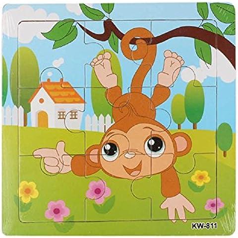 Araucarie legno, FEITONG Puzzle giocattoli per i bambini Istruzione e apprendimento Giocattoli