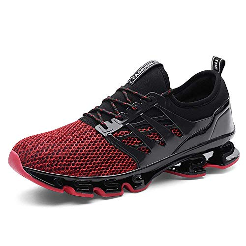 new style e8d98 39874 Qlv House Mens Springblade Sport Running Shoes Casual Walking Sneakers Slip  On Breathable Trail Fashion Shoe