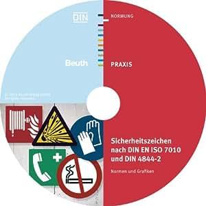 Sicherheitszeichen nach DIN EN ISO 7010 und DIN 4844-2: Normen und Grafiken als TIFF-Dateien und als Vektorgrafiken (EPS-Format)