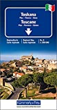 Toskana Regionalkarte Italien Nr. 8: 1:200 000,Pisa-Florenz-Siena (Kümmerly+Frey Reisekarten) -