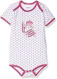 Real Sociedad Bodrso, Body para Bebés, Multicolor (Blanco/Rojo), 6 meses