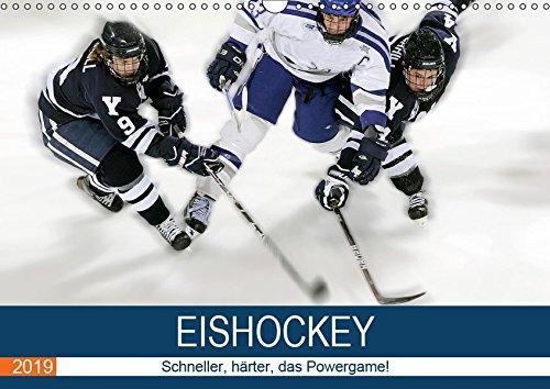 Eishockey! Schneller, härter, das Powergame! (Wandkalender 2019 DIN A3 quer): Heiße Action auf eiskaltem Eis! Das ist Eishockey live! (Monatskalender, 14 Seiten ) (CALVENDO Sport)
