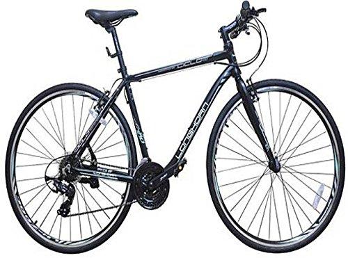 Longhorn Ciclo 100 700X32C 21 Speed LHCC732CBKBL Hybrid Cycle (Black)