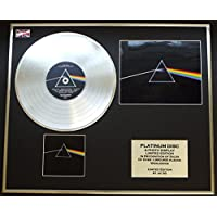"PINK FLOYD/CD platinum disc & Foto Display/Edicion Limitada/""DARK SIDE OF THE..."
