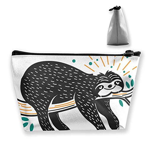 Power Cream Wash (Cartoon Cute Sleeping Sloth Women Cosmetic Bags Multifunktions-Kulturbeutel Organizer Travel Wash Lagerung (Trapez))