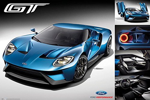 empireposter-745903-coches-ford-gt-2016-car-poster-tamano-915-x-61-cm-papel-multicolor-915-x-61-x-01