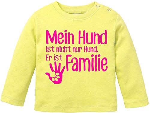 EZYshirt Hund ist Nicht Nur Hund! Er ist Familie Baby Shirt Longsleeve -