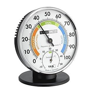 TFA Dostmann Präzisions Thermo-Hygrometer, 45.2033, zur Raumklimakontrolle