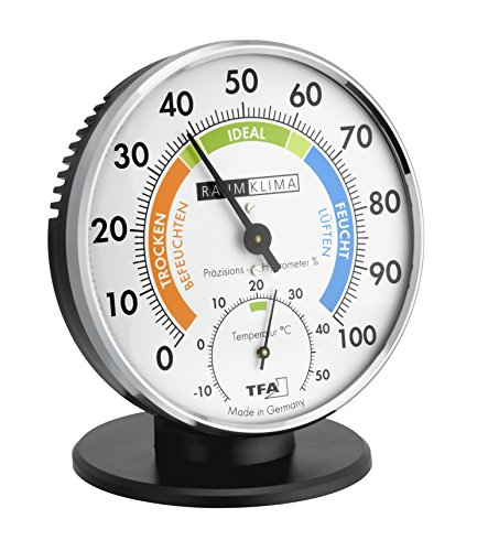 TFA Dostmann 45.2033 Thermo-Hygrometer, Multi-Colour, 0.8 x 13.5 x 3.8 cm