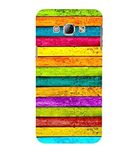 Colourful Wooden Pattern 3D Hard Polycarbonate Designer Back Case Cover for Samsung Galaxy A8 (2015 Old Model) :: Samsung Galaxy A8 Duos :: Samsung Galaxy A8 A800F A800Y