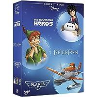 Les Nouveaux héros + Peter Pan + Planes 2