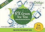 #4: myDaily ICE Green Tea - 6 times better with 6 times Higher Antioxidants (25 sachets), Lemon Flavour