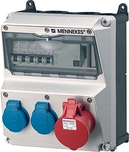 Preisvergleich Produktbild Mennekes 920009 Steckdosen-Kombination AMAXX