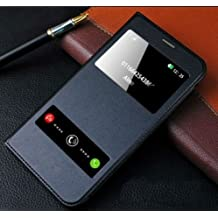 Helix Premium Wallet Flip Cover For Samsung Galaxy On Next (Black)