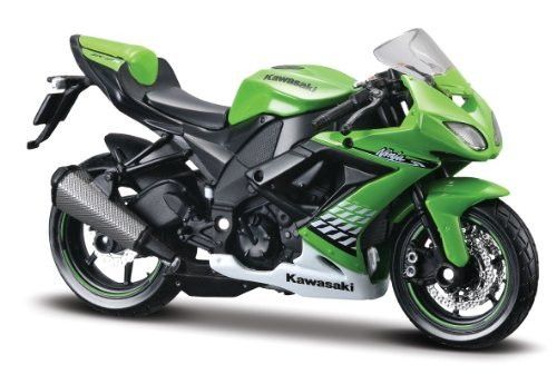 Preisvergleich Produktbild Kawasaki Ninja ZX-10R (2010), Maisto Motorrad Modell 1:18