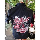 hotrodspirit - chemise hot rod hellcat motor oil chemisette noir 2xl