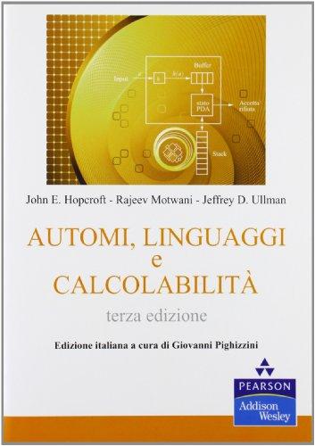 Automi, linguaggi e calcolabilità