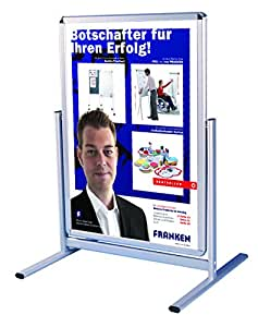 franken bs1301 panneau publicitaire d 39 ext rieur sur pied format a2 fournitures de bureau. Black Bedroom Furniture Sets. Home Design Ideas
