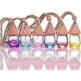 6ml, Light E, Glass : 1Pcs 6ML Diamond Colored Glass Perfume Bottle Useful For Car Hanging Perfume Bottle Empty Refillable Perfume Bottles #251727