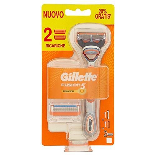Gillette Fusion 5 Rasoio Da Uomo - 1 Rasoio + 2 Lamette