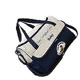 Gazechimp Multifunktionale Baby Windel Tasche Mama Mutter Handtasche Schultertasche - Marine