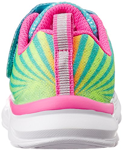 Skechers Pepsters Colorbeam, Baskets Basses Fille Multicolore (Mlt Multicouleur)