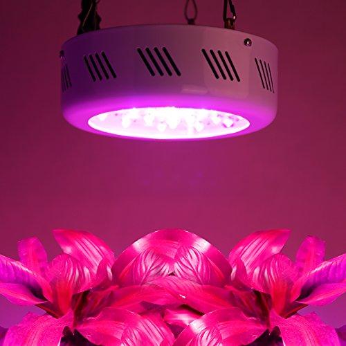 Roleadro 138w UFO Grow Led Luci per Piante Spectrum con IR UV Serra Lampada de Coltivazazione Led per Idroponica Box