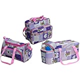 Annapurna Sales Baby Diaper Bag With Bottle Warmers Or Baby Diaper Bag For Mother Or Baby Accessories Bag Or Nappy Changing Bag With 2 Bottle Warmers Combo Set Of 3 Pcs. - Peach (Unisex)