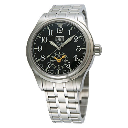 [Ball Watch] BALL Watch watch train master Dual Time Black Dial Stainless Steel 50m waterproof GM1056D-SJ-BK Men's parallel import goods]